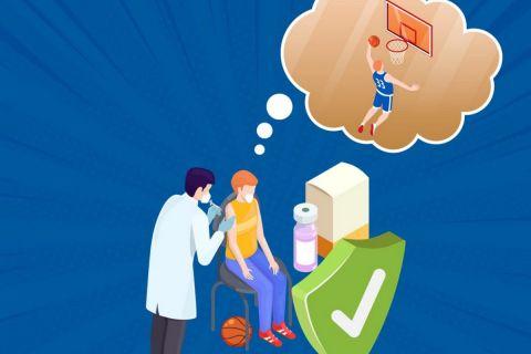 ΕΟΚ: Παρουσίασε την καμπάνια της για τον εμβολιασμό κατά του κορονοϊού στους αθλητές