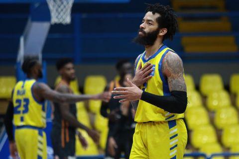 Ο Πέτεγουεϊ σε αγώνα του Περιστερίου στη Stoiximan Basket League