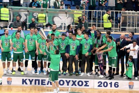 Η παρακάμερα του τελικού του Κυπέλλου Ελλάδος