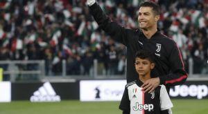 Κριστιάνο Ρονάλντο: Προπονήθηκε με τον γιο του στο προπονητικό της Γιουβέντους