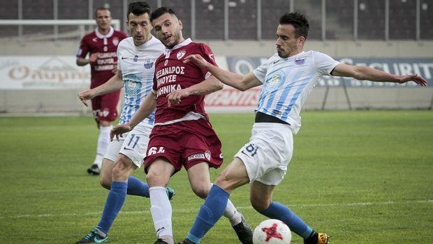 Δυο γκολ σε τρία λεπτά και ισοπαλία στη Λάρισα, ΑΕΛ-Λαμία 1-1