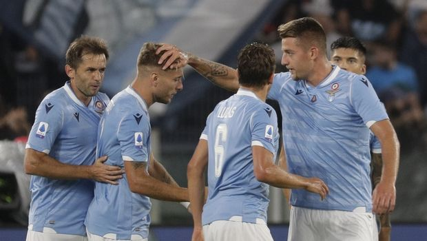Serie A: Η Λάτσιο επέστρεψε από 0-3 και έσωσε το βαθμό στο 90+2'