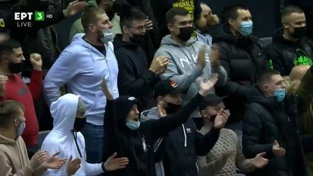 Με φίλους της ΑΕΚ στις εξέδρες το παιχνίδι με την Τσμόκι Μινσκ στη Λευκορωσία