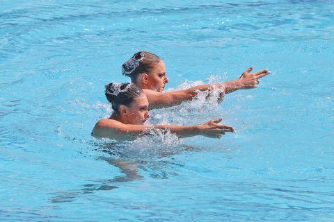 Στους Ολυμπιακούς Αγώνες η εθνική ομάδα καλλιτεχνικής κολύμβησης