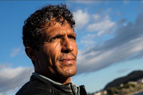 Ο Μπρούνο Άλβες στη φωτογράφιση για τη συνέντευξη στο SPORT24