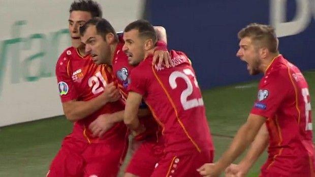Η Βόρεια Μακεδονία στα τελικά του Euro με ήρωα τον Πάντεφ