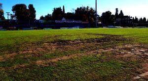 Κέρκυρα – ΟΦΗ: Λάσπη το ΕΑΚ δύο ώρες πριν το ματς του Κυπέλλου (VIDEO)