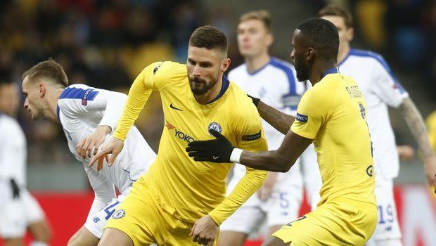 Chelsea, Olivier Giroud, (AP IMAGES/Efrem Lukatsky)