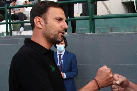 Ο Συλαϊδόπουλος πριν από το ντέρμπι με τον Ολυμπιακό