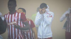 Ολυμπιακός – ΠΑΟΚ: Η δυσφορία των παικτών λόγω των καπνογόνων (PHOTOS)