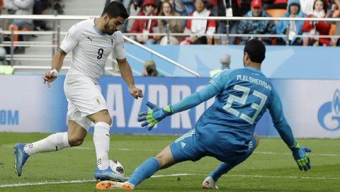 Κεφαλιά-λύτρωση στο 89' για την Ουρουγουάη, 1-0 την Αίγυπτο