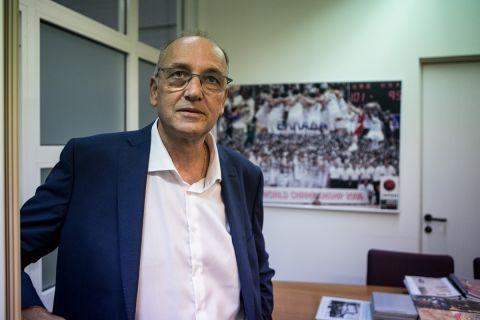 Ο Βαγγέλης Λιόλιος στα γραφεία της ΕΟΚ Photo by: Andreas Papakonstantinou / Tourette Photography