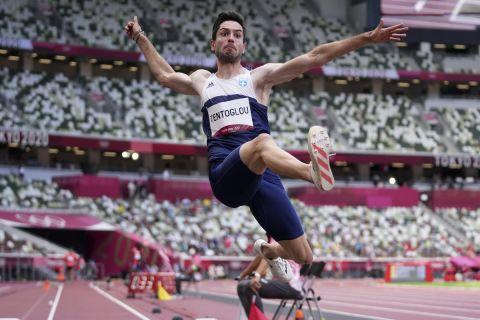 Ο Μίλτος Τεντόγλου στους Ολυμπιακούς Αγώνες του Τόκιο