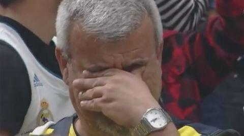 Το κλάμα του οπαδού της Φενέρμπαχτσε