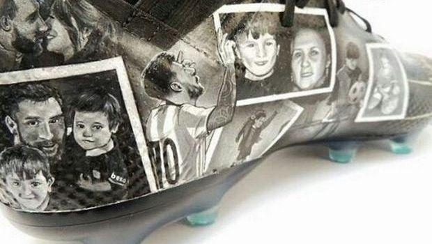 Τα εκπληκτικά παπούτσια διάσημου σχεδιαστή για τον Μέσι
