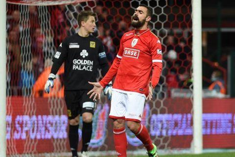 FOOTBALL :  Standard de Liege vs Saint Trond  - Jupiler Pro League - Championnat Belge - 07/02/2016