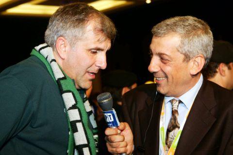 Ζέλιμιρ Ομπράντοβιτς και Βασίλης Σκουντής συζητούν σε συνέντευξη για την ΕΡΤ