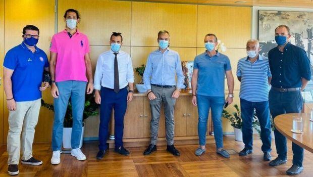 Ηρακλής: Συνάντηση με τον δήμαρχο Θεσσαλονίκης για τα Final Four του BCL