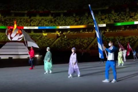H Ολυμπιακή Φλόγα έσβησε, το Τόκιο δίνει στο Παρίσι η σκυτάλη