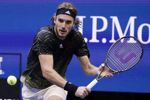 Ο Στέφανος Τσιτσιπάς στον 3ο γύρο του US Open
