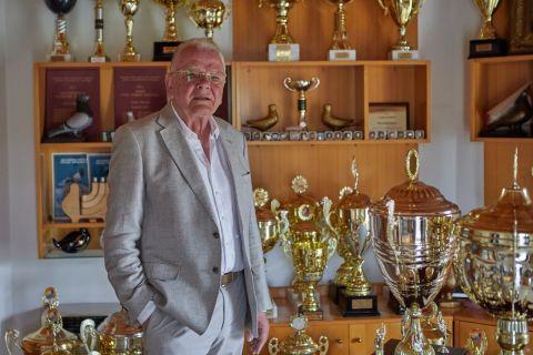 Τα τρόπαια στο σπίτι του Ντούσαν Ίβκοβιτς