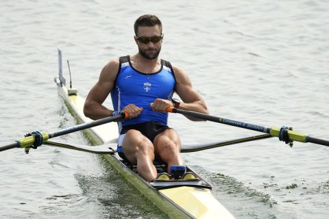 Ο Στέφανος Ντούσκος στους Ολυμπιακούς Αγώνες του Τόκιο