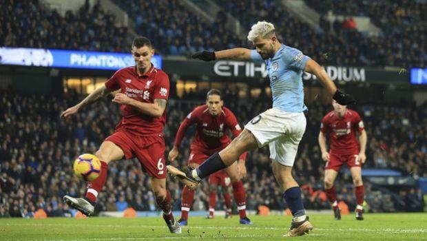 Σίτι - Λίβερπουλ: Ο Αγκουέρο τίναξε τα δίχτυα του Άλισον για το 1-0 (VIDEO)