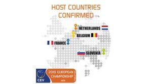 Σε τέσσερις χώρες το Ευρωπαϊκό του 2019