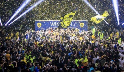 CHAMPIONS LEAGUE / FINAL-4 / ΤΕΛΙΚΟΣ / ΜΟΝΑΚΟ - ΑΕΚ (ΦΩΤΟΓΡΑΦΙΑ: ΤΑΚΗΣ ΣΑΓΙΑΣ / EUROKINISSI)