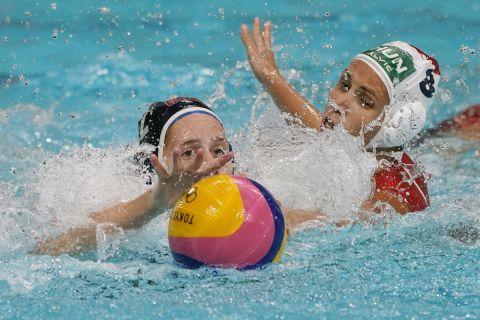 Η Ουγγαρία πήρε μια τεράστια νίκη στον όμιλο του ολυμπιακού τουρνουά πόλο των γυναικών