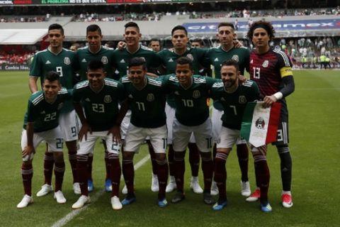 Η 23άδα του Μεξικό για το Παγκόσμιο Κύπελλο