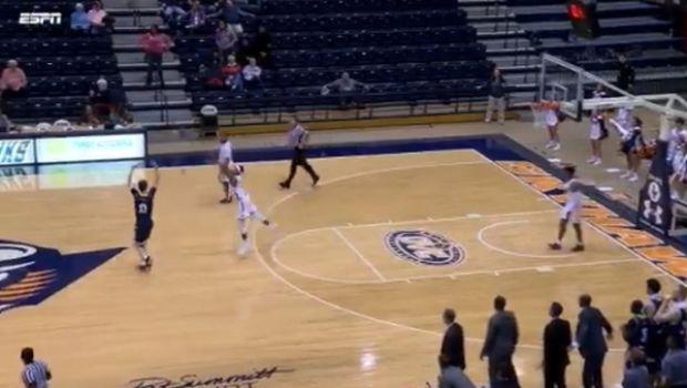 NCAA: Απίστευτο φινάλε σε αγώνα και buzzer-beater από τη μία μπασκέτα στην άλλη!
