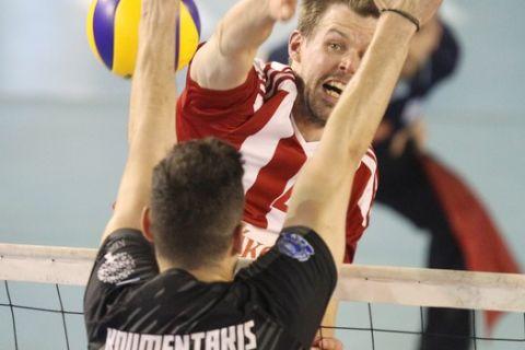 Την Πέμπτη ο πρώτος τελικός της Volley League μεταξύ Ολυμπιακού και ΠΑΟΚ