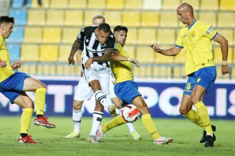 Ο Σίντκλεϊ σκοράρει στο ματς του Παναιτωλικού με τον ΠΑΟΚ | 22 Σεπτεμβρίου 2021