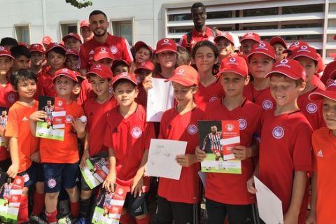 """Ολυμπιακός: Πάνω από 200 παιδιά στο Camp των """"ερυθρόλευκων"""""""