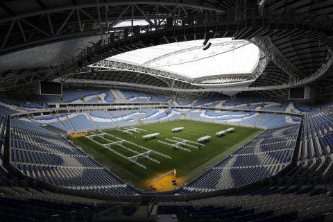 Το γήπεδο Αλ Τζανούμπ στην Ντόχα | Δευτέρα 16 Δεκεμβρίου 2019
