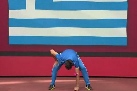 Ο Μίλτος Τεντόγλου και η εντυπωσιακή παρουσίασή του στους Ολυμπιακούς Αγώνες