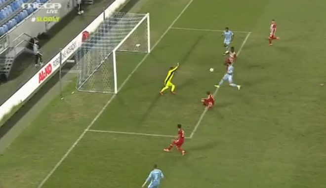 slovan goal