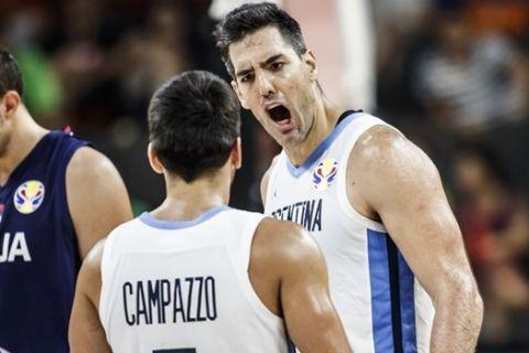 """Αργεντινή - Σερβία 97-87: Την """"τελείωσε"""" με Καμπάτσο και Σκόλα"""