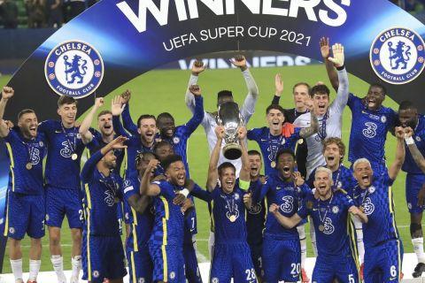 Τσέλσι - Βιγιαρεάλ 1-1 (6-5 στα πέναλτι): Οι μπλε σήκωσαν το Ευρωπαϊκό Σούπερ Καπ με ήρωα τον Κέπα