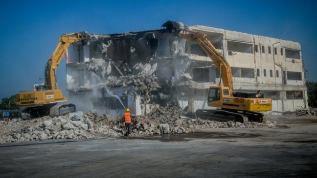 Ξεκίνησαν σήμερα τα έργα ανάπλασης για το πάρκο στο πρώην αεροδρόμιο του Ελληνικού, Παρασκευή 3 ιουλίου 2020 (EUROKINISSI/ΤΑΤΙΑΝΑ ΜΠΟΛΑΡΗ)