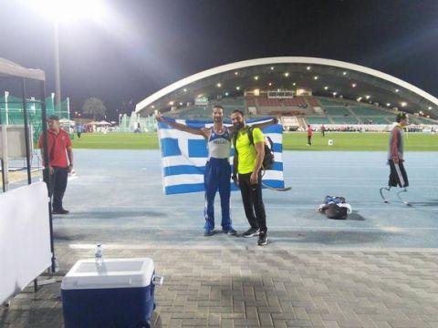 Παγκόσμιο ρεκόρ ο Νικολαίδης στην δισκοβολία, ευρωπαϊκό η Λιάγκου στη σφαίρα