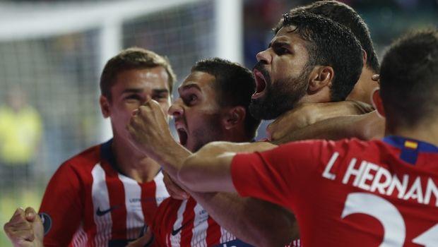 Η Ατλέτικο το Super Cup Ευρώπης, 4-2 τη Ρεάλ στην παράταση (photos + video)