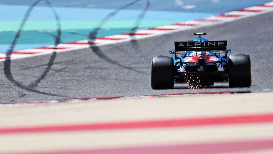 Esteban Ocon (FRA) Alpine F1 Team A521. Formula One Testing, Sunday 14th March 2021. Sakhir, Bahrain.