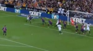 Βαλένθια – Μπαρτσελόνα: Νέα γκέλα του Πικέ στο 1-0 της Βαλένθια