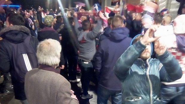 Το ξέφρενο πάρτι των Κροατών μετά τον θρίαμβο