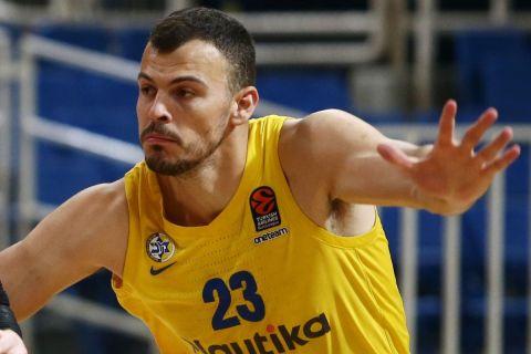 Ο Ζίζιτς σε αγώνα της EuroLeague