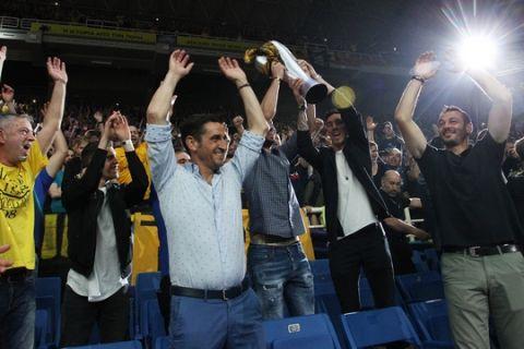 CHAMPIONS LEAGUE / FINAL-4 / ΤΕΛΙΚΟΣ / ΜΟΝΑΚΟ - ΑΕΚ (ΦΩΤΟΓΡΑΦΙΑ: ΜΑΡΚΟΣ ΧΟΥΖΟΥΡΗΣ / EUROKINISSI)