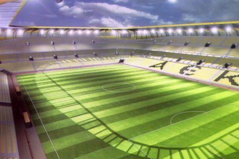 Γήπεδο 32.500 θέσεων με 60 εκ. ευρώ