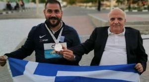 Παγκόσμιο πρωτάθλημα στίβου ΑμεΑ: Δεύτερος στον ακοντισμό ο Στεφανουδάκης